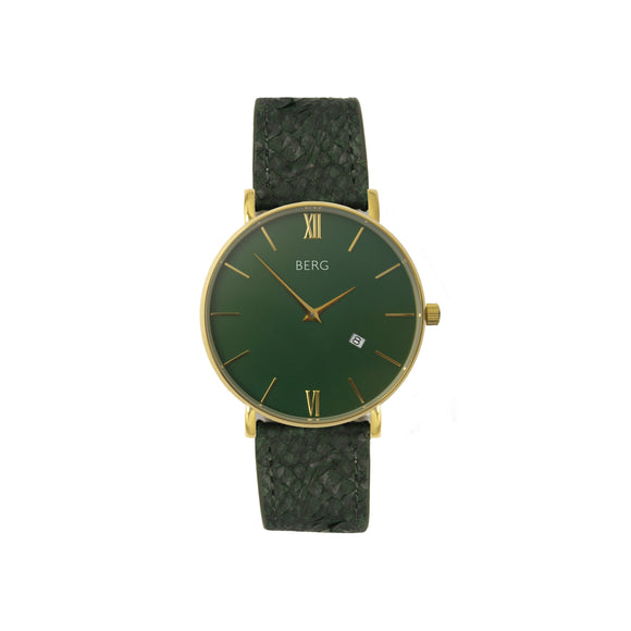 bergwatches Mens watches Brown Ulriken Green Gold 40 MM