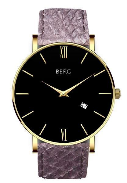 bergwatches Mens watches Grey Ulriken Black Gold 40 MM
