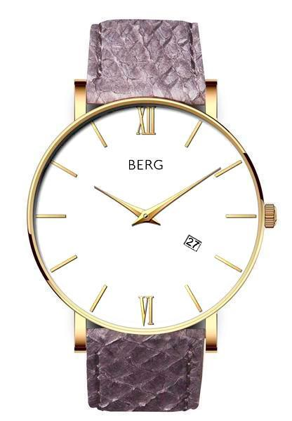 bergwatches Mens watches Green Ulriken White Gold 40 MM