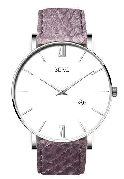 bergwatches Mens watches Grey Ulriken White Silver 40 MM