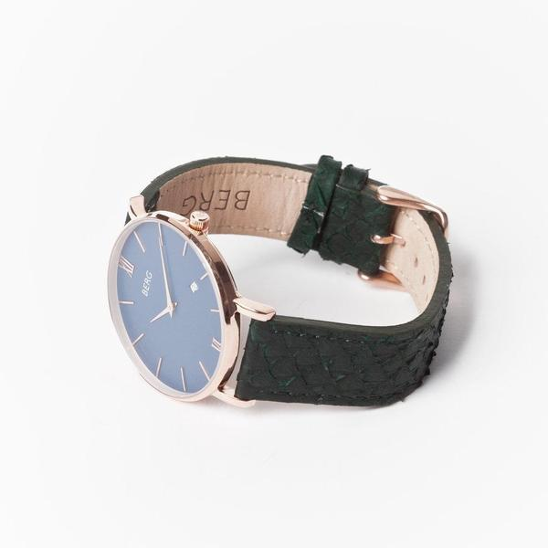 bergwatches Mens watches Ulriken Blue Rose Gold 40 MM