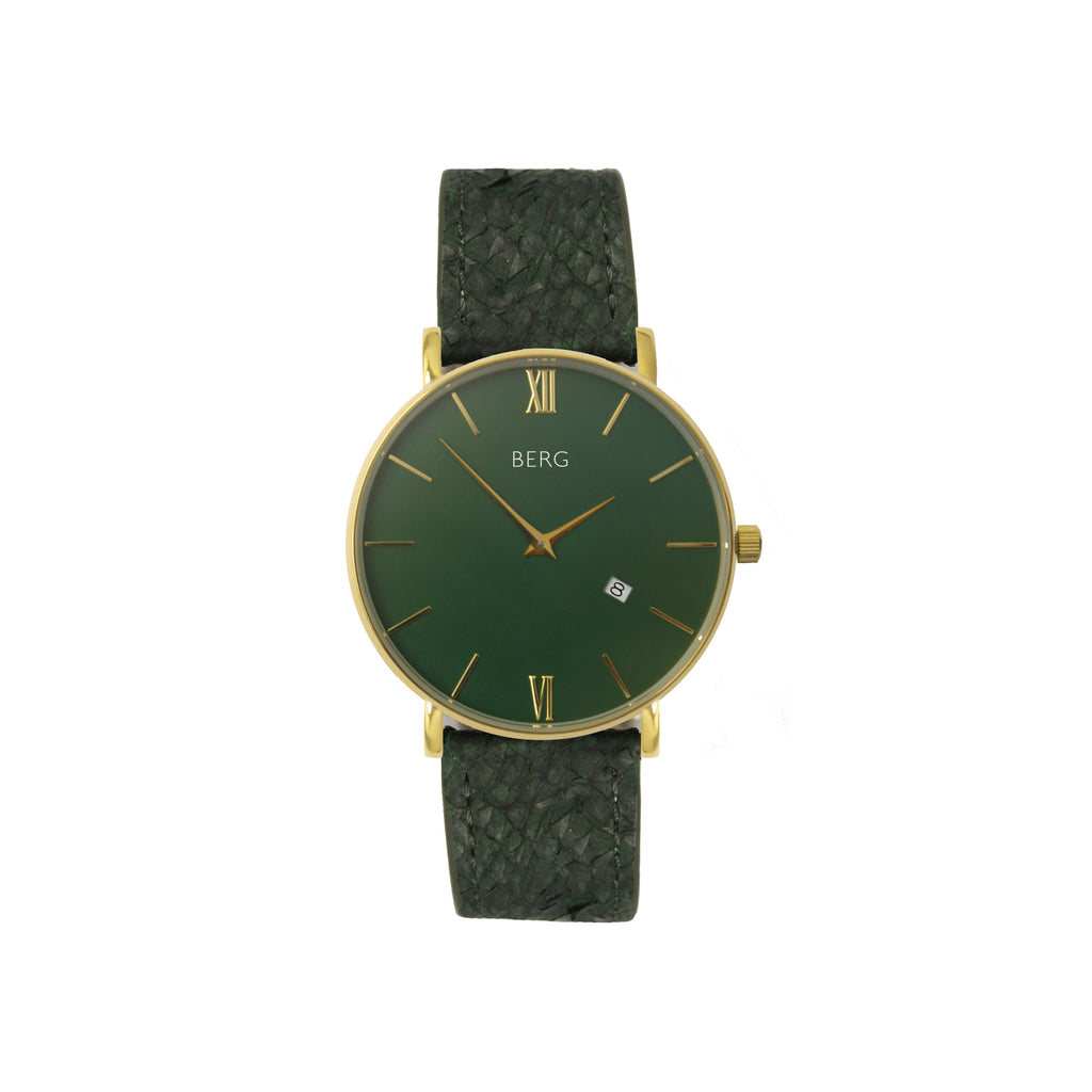 bergwatches Womens watches Green Ulriken Green Gold 36 MM