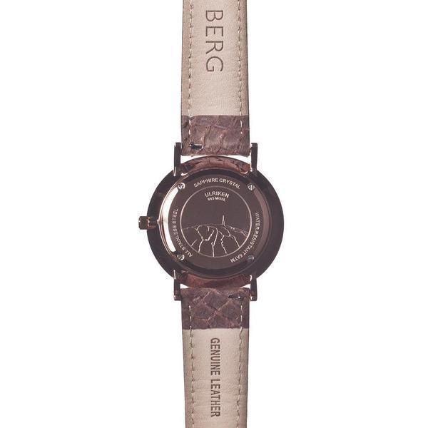 bergwatches Womens watches Ulriken Black Rose Gold 36 MM