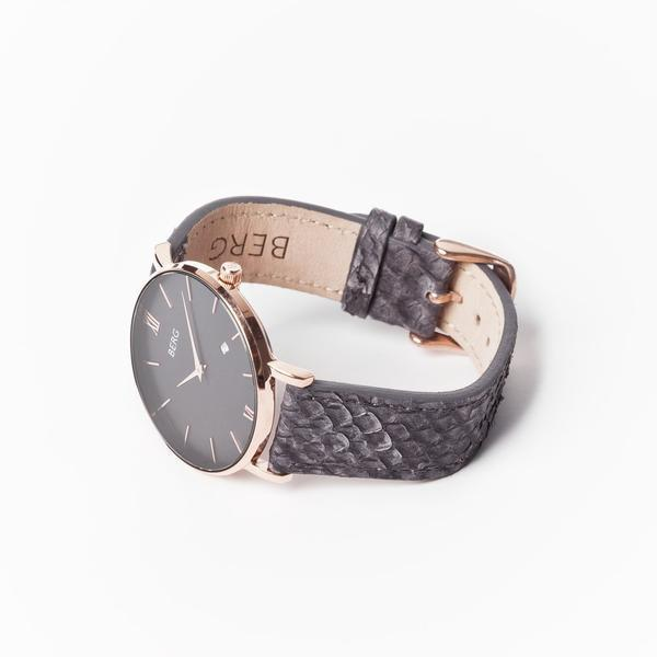 bergwatches Womens watches Ulriken Black Rose Gold 40 MM