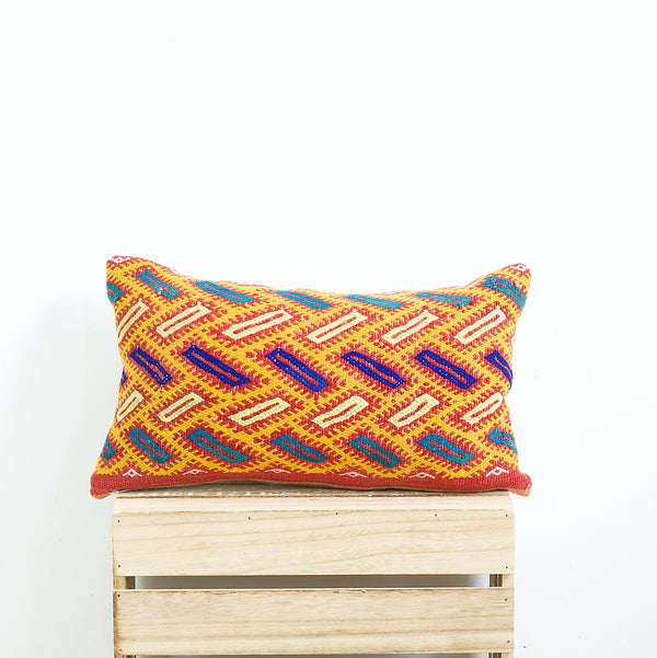 "19"" x 12"" Vintage Moroccan pillow cover"