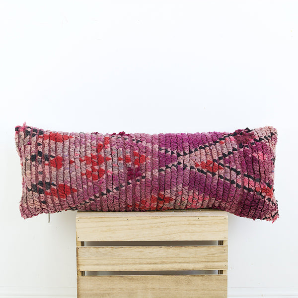 "29"" x 12"" Vintage Moroccan pillow cover"
