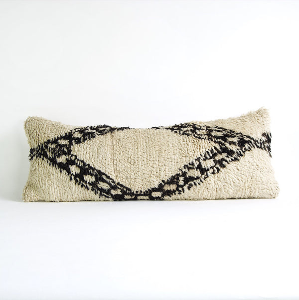"30"" x 11"" Vintage Moroccan pillow cover"