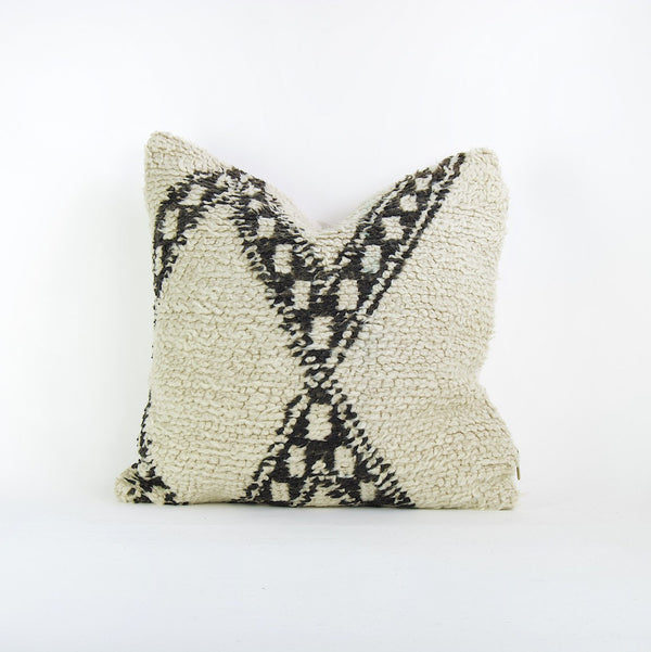 "20"" x 20"" Vintage Moroccan pillow cover"