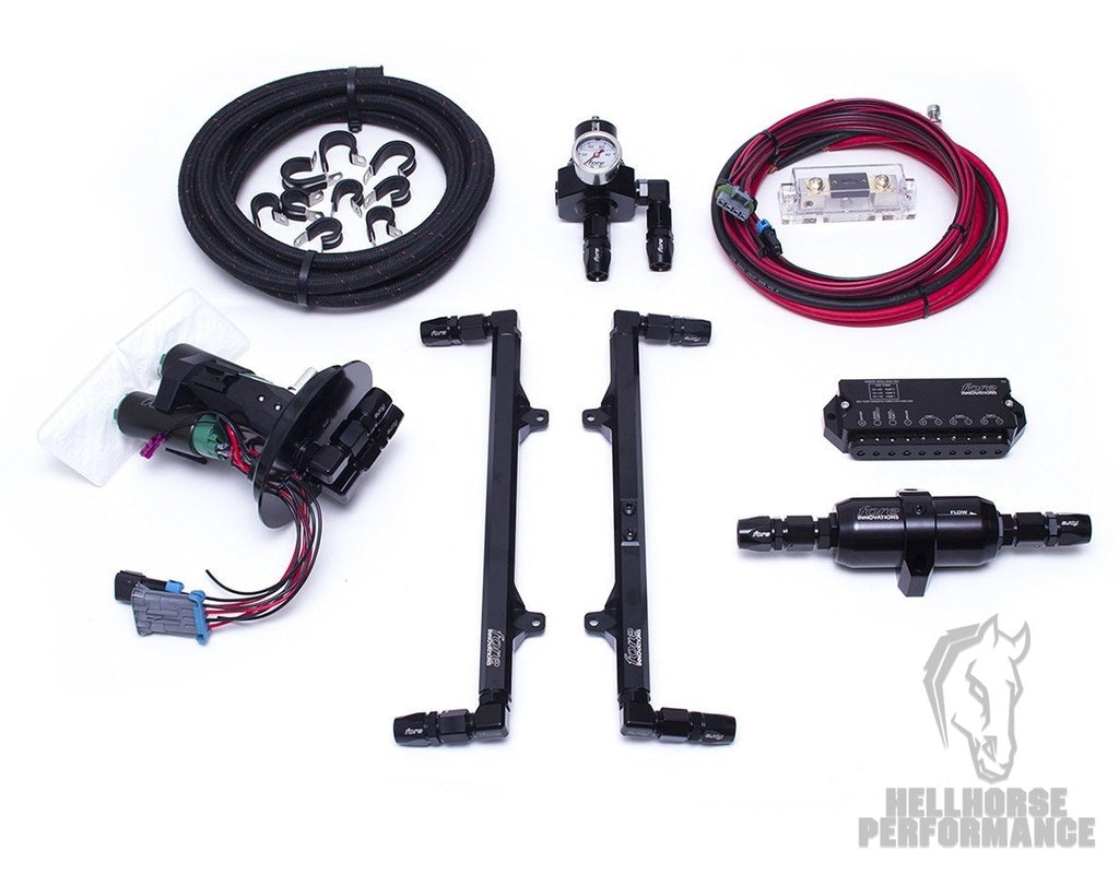 2011-2017 Mustang GT L2 Fuel System (dual pump) - Fore Innovations Fore Innovations