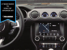 "Load image into Gallery viewer, 2015-2020 Mustang 4"" to 8"" Touchscreen Conversion w/ SYNC 3 (15-20 Mustang) Hellhorse Performance"