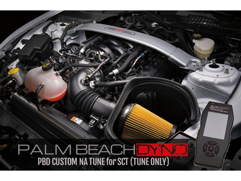 2016+ GT350 PBD Naturally Aspirated Tuning for SCT (TUNE ONLY) PBDyno