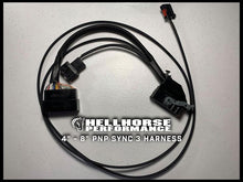 "Load image into Gallery viewer, 4"" to 8"" Plug 'n Play Conversion Harness for Sync 3 Hellhorse Performance"