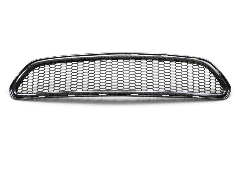 Anderson Composites 15-16 Ford Mustang Type-AE Front Upper Grille Hellhorse Performance