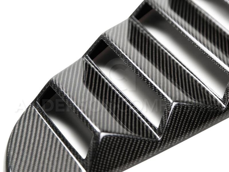 Anderson Composites 2015-2017 Ford Mustang Type - Window Louvers Hellhorse Performance