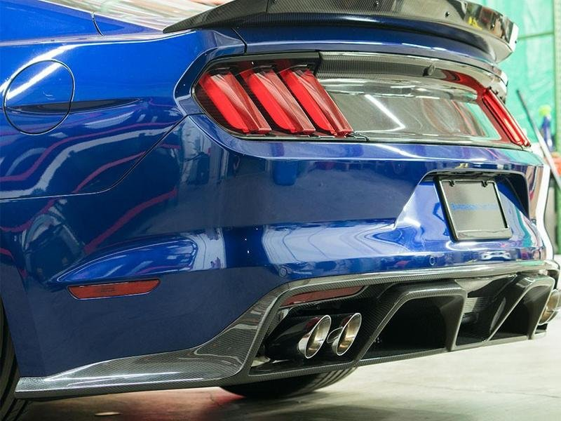 Anderson Composites 2018 Ford Mustang GT/Ecoboost Rear Valance Hellhorse Performance