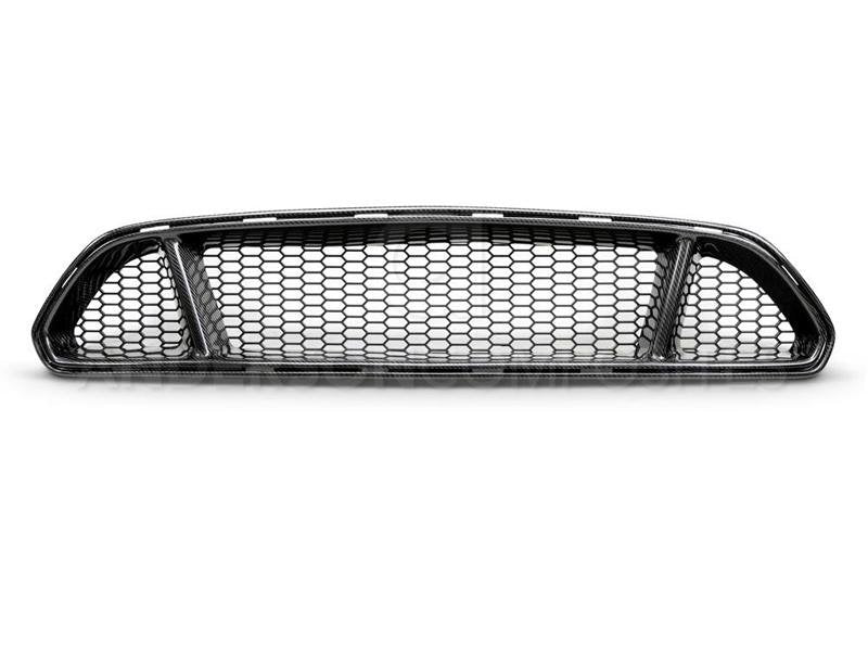 Anderson Composites 2018 Ford Mustang Type-GT Carbon Fiber Upper Grille Hellhorse Performance