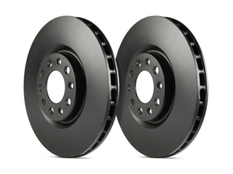 EBC 2015+ Ford Mustang (6th Gen) 2.3L Turbo (Performance Package) RK Series Premium Front Rotors Hellhorse Performance®