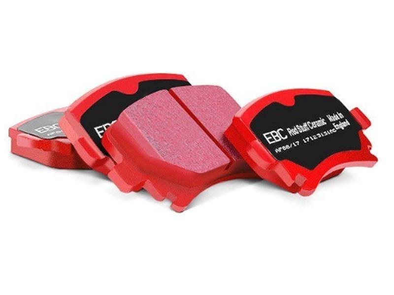 EBC 2015+ Ford Mustang (6th Gen) 5.2L (GT350) Shelby Redstuff Front Brake Pads Hellhorse Performance®