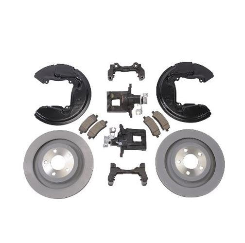 Ford Racing 15-17 Mustang GT / Ecoboost Rear Brake Upgrade Kit Hellhorse Performance