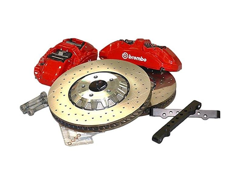 Ford Racing 15-17 Mustang GT/ 2.3L EcoBoost GT350R Brake Upgrade Kit Hellhorse Performance