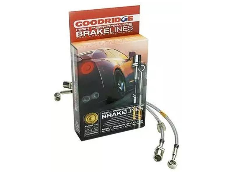 Goodridge 2015 Ford Mustang All Models G-Stop Stainless Steel Brake Lines Hellhorse Performance