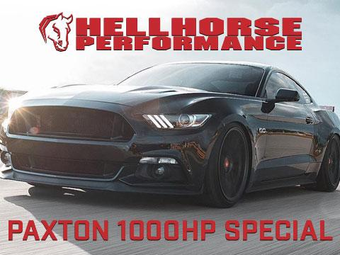 Hellhorse Supercharger Special - Paxton - 1000HP (15-17 GT) Hellhorse Performance