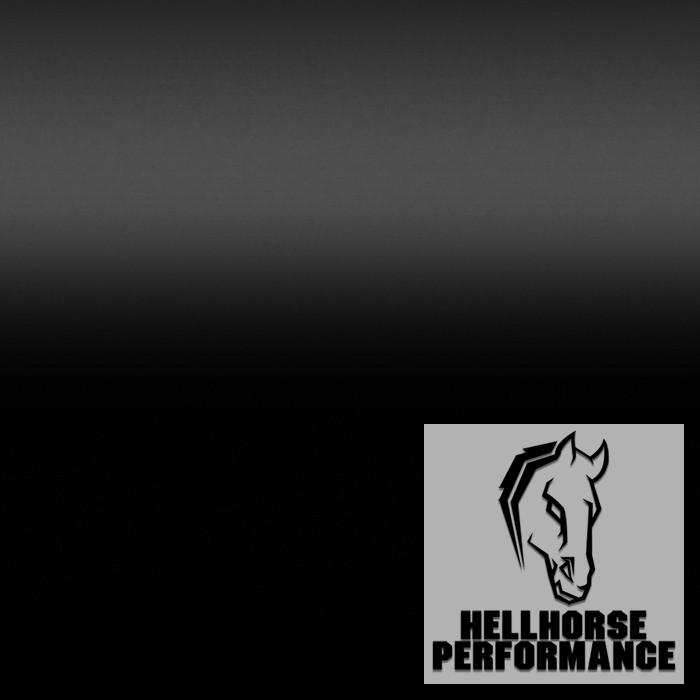 Hellhorse® Satin Black Roof Wrap Kit (All Mustangs) Hellhorse Performance