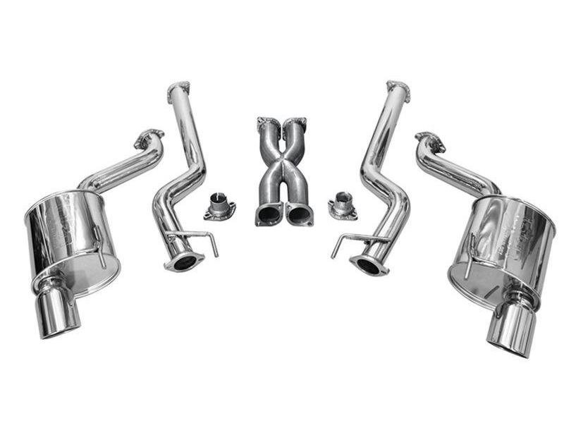 Injen 15-16 Ford Mustang GT 5.0L V8 3in Cat-Back Stainless Steel Exhaust Hellhorse Performance