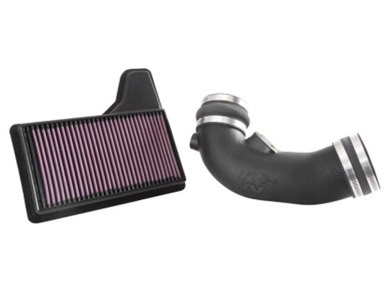 K&N 2015 Ford Mustang V8-5.0L Performance Air Intake System Hellhorse Performance