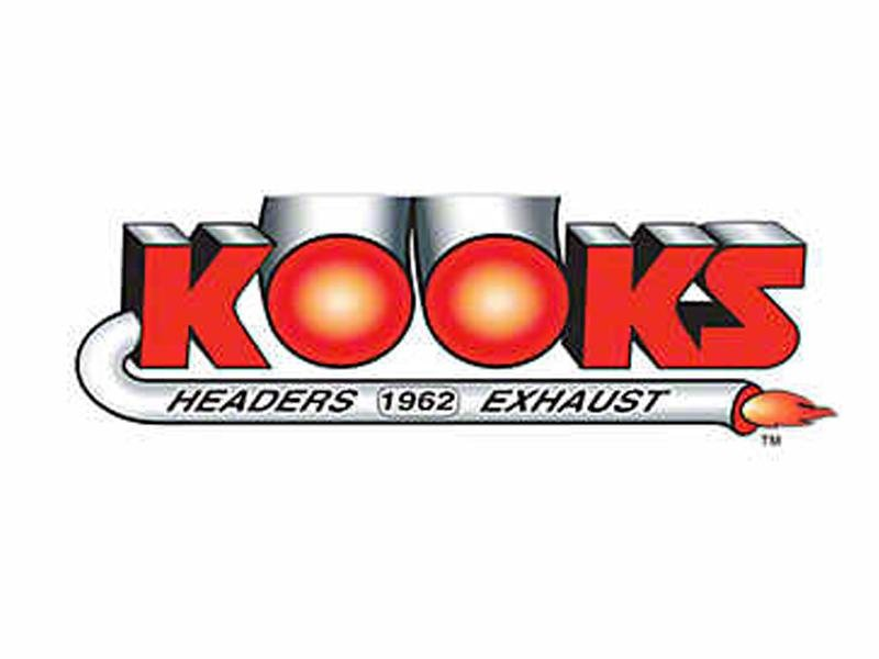Kooks 2015+ Ford Mustang GT 5.0L 4V OEM 3in x 2-1/4in SS 45 Deg. Connection Pipe (SINGLE - 2 REQ'D) Hellhorse Performance