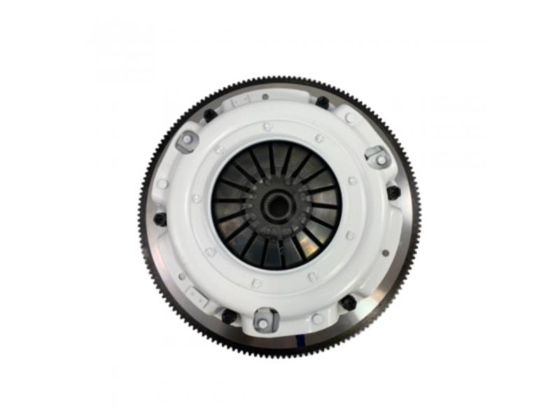 Lethal Performance LPX Twin Disc Clutch Kit - 8 Bolt Lightweight Steel Flywheel, 23 Spline, 800 HP (2011-2017 Mustang GT) Lethal Performance