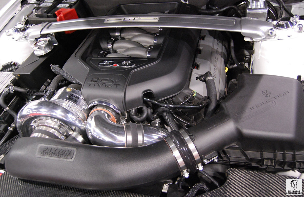 Paxton Supercharger Complete Kit 2200SL (15-17 Mustang GT) - Black Finish Paxton Superchargers