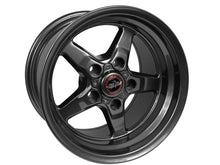 "Load image into Gallery viewer, Race Star Drag Wheel 17"" - Bracket Racer Metallic Gray Finish Hellhorse Performance"