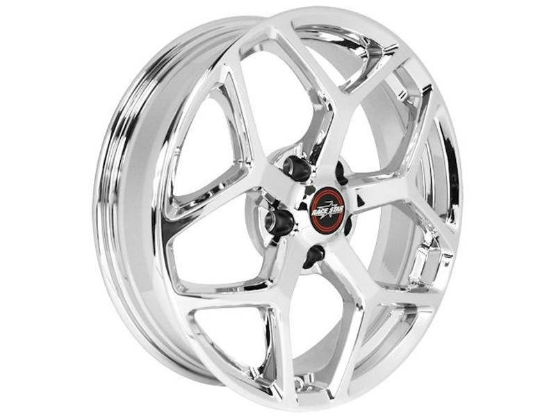 "Race Star Recluse Wheel 18"" - Chrome Finish Hellhorse Performance"