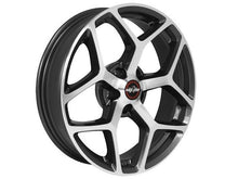 "Load image into Gallery viewer, Race Star Recluse Wheel 18"" - Metallic Gray Finish Hellhorse Performance"