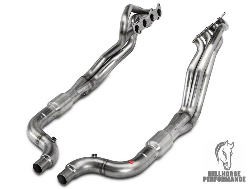 Stainless Power 1-7/8 in. Long Tube Catted Headers (15-17 GT) Stainless Works