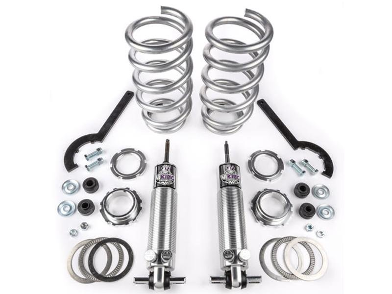 "Viking Front Strut Cruise Double Adjustable Coil Over Kit Crusader 0-2"" Lowered Big Block (2005-14 Mustang) Hellhorse Performance®"