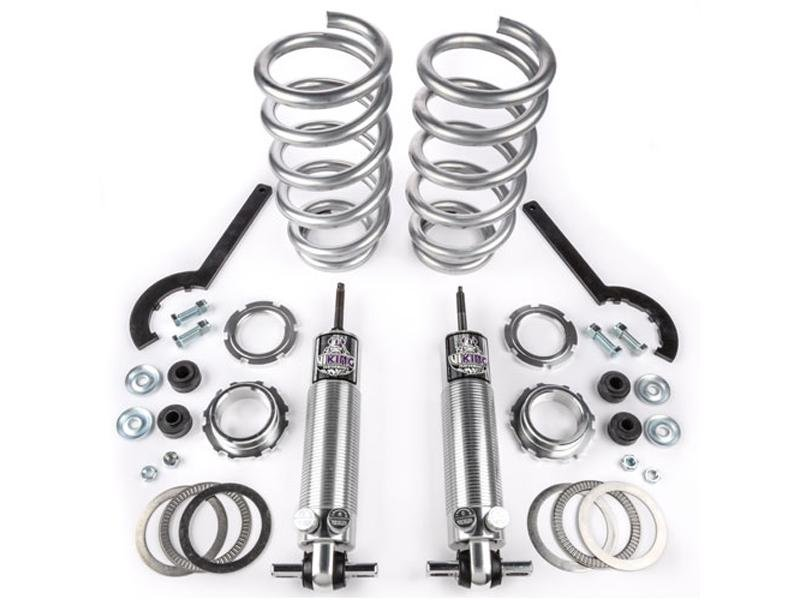 "Viking Front Strut Cruise Double Adjustable Coil Over Kit Crusader 2-3"" Lowered Big Block (2005-14 Mustang) Hellhorse Performance®"