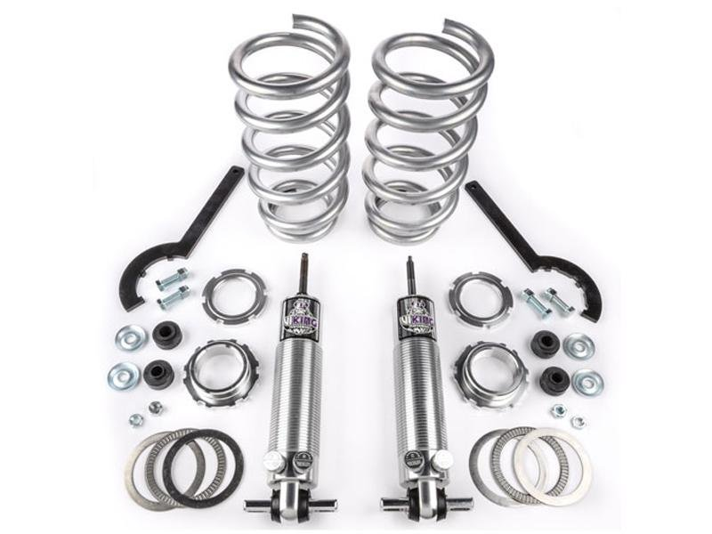 "Viking Front Strut Drag Higher Hp Double Adjustable Coil Over Kit Crusader 0-2"" Lowered Big Block (2005-14 Mustang) Hellhorse Performance®"