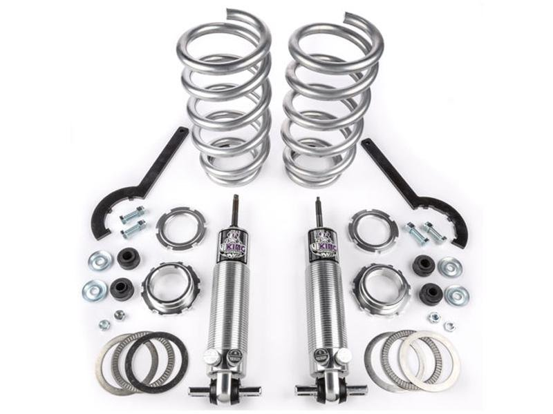 "Viking Front Strut Pro Touring Double Adjustable Coil Over Kit Crusader 2-3"" Lowered Big Block (2005-14 Mustang) Hellhorse Performance®"