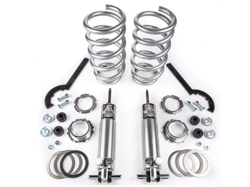 "Viking Front Strut Street Double Adjustable Coil Over Kit Warrior 2-3"" Lowered Big Block (2005-14 Mustang) Hellhorse Performance®"