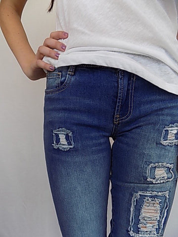 top priority mid rise skinny jeans