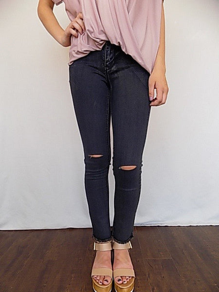 stiletto skinny jeans