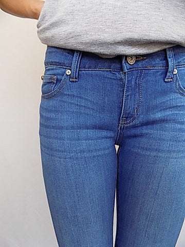 top of the world mid rise skinny jeans