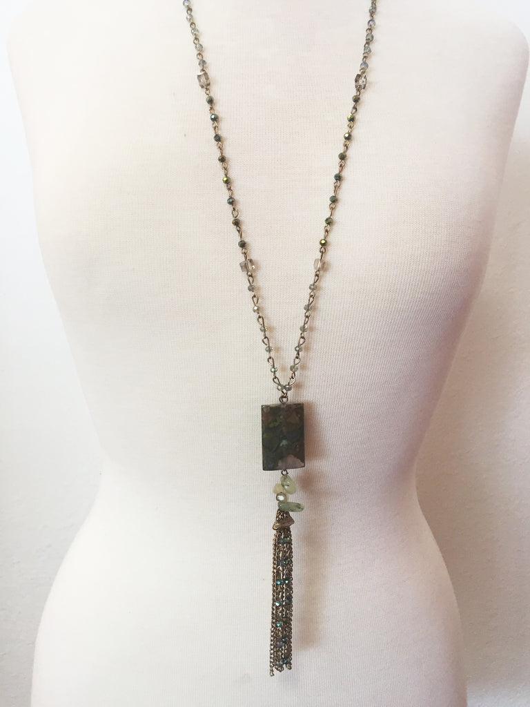 so squared necklace