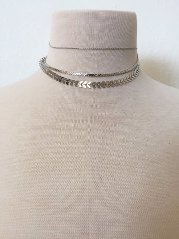 forever young layered choker