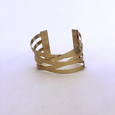 twisted fence cuff