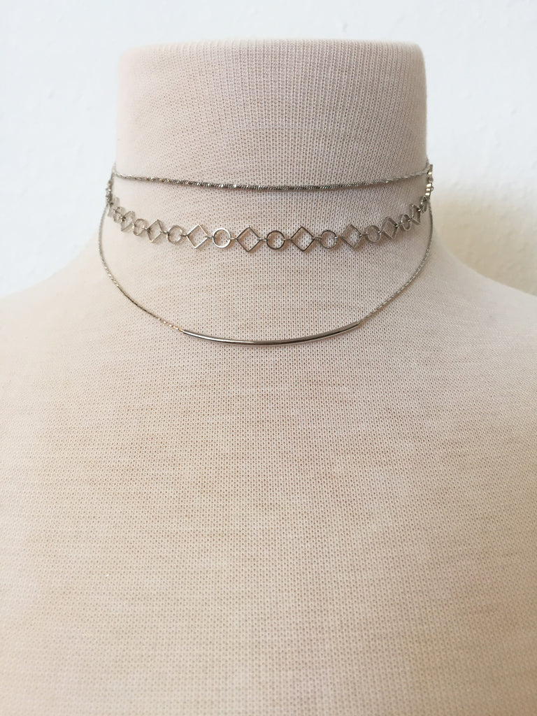shape up layered choker