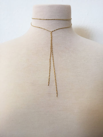 wrap it up lariat choker
