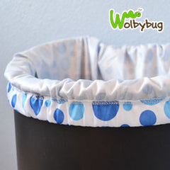 Doorknob Diaper Pail can be used as a Pail Liner